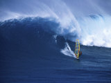 Windsurfer Surfing Photographic Print