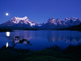 Lake Pehoe, Torres Del Paine National Park, Chile Photographic Print