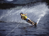 Water Skiing Photographic Print