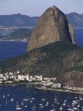 Sugar Loaf Mountain, Botafogo Bay, Rio de Janeiro, Brazil Photographic Print