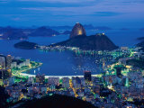 Sugar Loaf Mountain, Rio de Janeiro, Brazil Photographic Print