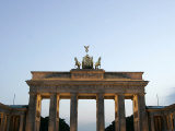 The Brandenburg Gate Glows in the Evening Light in Berlin Photographic Print