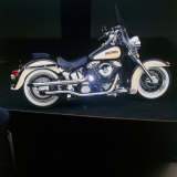 1996 Harley-Davidson, Custom Heritage Softail Photographic Print