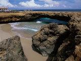 Natural Bridge, Aruba Photographic Print