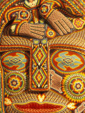 Huichol Indian Crafts Beadwork, Cabo San Lucas, Baja California Sur, Mexico Photographic Print by Walter Bibikow