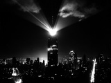A New Beacon Lights Atop the Empire State Building Photographic Print