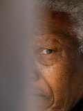 Former South African President Nelson Mandela Photographie