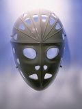 Hockey Goalkeeper&#39;s Mask Fotografie-Druck