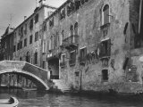 Ghetto Section in Venice Photographic Print