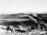 A Caravan Comes from the Sand Hills Photographic Print
