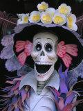 Skeletons, Day of the Dead, Paper Mache Sculpture, Oaxaca, Mexico Reproduction photographique par Judith Haden