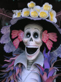 Skeletons, Day of the Dead, Paper Mache Sculpture, Oaxaca, Mexico Photographic Print by Judith Haden