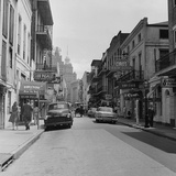Bourbon Street Fotografie-Druck