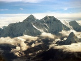 The Southern Face of Mount Everest Photographic Print