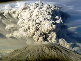 Mount St. Helen's Erupts Photographic Print