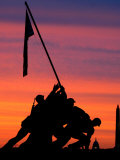 The Early Morning Sunrise Warms the Washington Sky Photographic Print