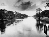 The Bayou Teche in Louisiana Photographic Print