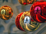 A Christmas Tree in Red Square in Moscow Photographic Print