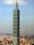 The World's Tallest Building the Taipei 101 Photographic Print