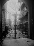 New Orleans' French Quarter is Famous for its Intricate Ironwork Gates and Balconies Photographie