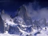 Cerro Fitz Roy, Los Glaciares National Park, Argentina Photographic Print by Gavriel Jecan