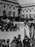 Theodore Roosevelt Speaks During His Inauguration Ceremony Photographic Print