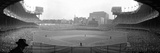 New York's Yankee Stadium as the Yankees Hosted the Brooklyn Dodgers Lámina fotográfica