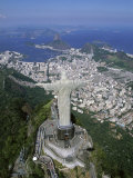Christ the Redeemer Statue Mount Corcovado Rio de Janeiro, Brazil Photographic Print