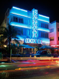 Colony Hotel, Miami Beach, Florida, USA Photographic Print