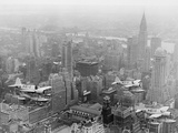 U.S. Navy Observation Planes Fly Over New York City Photographic Print