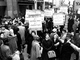 Striking Members of the International Lady Garment Workers Union (Ilgwu) Picket on 7th Ave. Photographic Print
