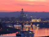 Sunset in Dresden Lmina fotogrfica