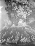 Mount St. Helens Sends a Plume of Ash, Smoke and Debris Skyward Photographic Print