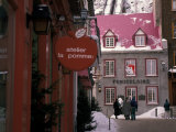 Quartier de Petit Champlain, Quebec City, Quebec, Canada Photographic Print by Nik Wheeler