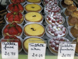 Pastries in Shop Window, Paris, France Photographic Print by Michele Molinari
