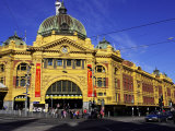 Flinders Street Station, Melbourne, Victoria, Australia Photographic Print by David Wall