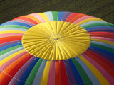 Hot-air Balloon, South Island, New Zealand Photographic Print by David Wall