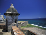 Sentry Box at San Cristobal Fort, El Morro, San Juan, Puerto Rico Photographic Print by Michele Molinari