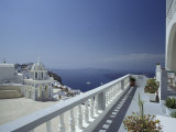 Thira and the Caldera, Santorini, Cyclades Islands, Greece Photographic Print by Michele Molinari