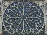 South Rose Window of Notre-Dame, Paris, France Photographic Print by Lisa S. Engelbrecht