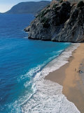 Beach near Kalkan, Turquoise Coast, Turkey Photographic Print by Nik Wheeler