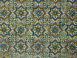 Moorish Mosaic Azulejos (ceramic tiles), Casa de Pilatos Palace, Sevilla, Spain Photographic Print by John & Lisa Merrill