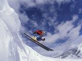 Skiing in Vail, Colorado, USA Photographie par Lee Kopfler
