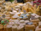 Cheese Variety, Paris, France Lámina fotográfica por Lisa S. Engelbrecht