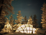 Kakslauttanen, Lapland, Finland Photographic Print by Daisy Gilardini