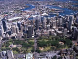 Hyde Park and Sydney CBD, Australia Photographic Print by David Wall