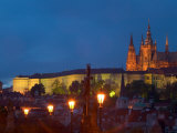 St. Vitus Cathedral, Prague Castle, Czech Republic Photographie par Russell Young