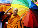 The Dalai Lama Fotografie-Druck