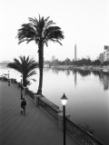 View of the Nile River, Cairo, Egypt Photographic Print by Walter Bibikow
