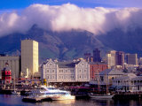 Victoria and Alfred Waterfront, Cape Town, South Africa Photographic Print by Walter Bibikow